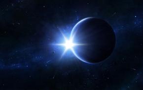 звёзды, космос, яркость, Планеты, кометы, свет