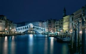 cities, architecture, bridge, Italy