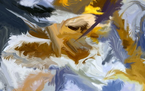 paints, background, painting, 3D