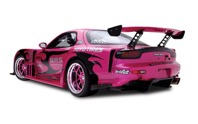 white, pink, wheels, background, color