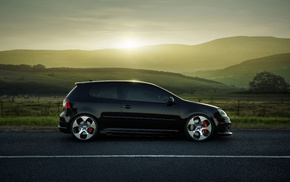 Volkswagen, cars, road, wheels