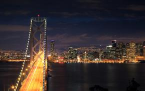 city, night, lights, cities