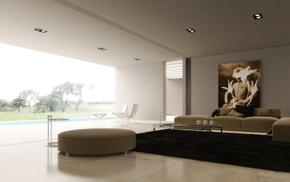 room, interior, design