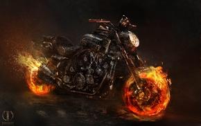 Призрачный гонщик 2, байк, мотоцикл, ghost rider, spirit of vengeance, фильмы