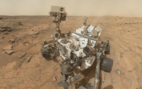 self shots, Curiosity, science, Mars