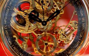 macro, clocks