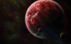 пространство, Спутники, планета, кометы, космос