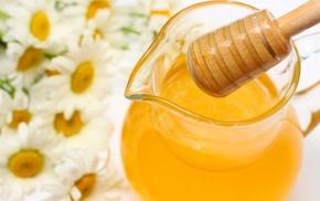 ромашки, вкусно, Мед, цветы, honey, кувшин