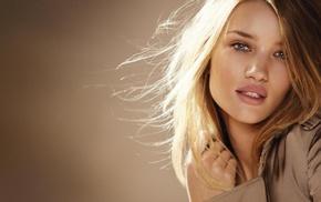 голубые глаза, блондинка, модель, лицо, девушка