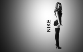shapely, Nike, girl, girls