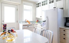 interior, kitchen, room, table
