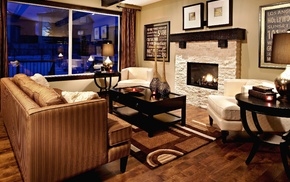 interior, style, room, design, couch