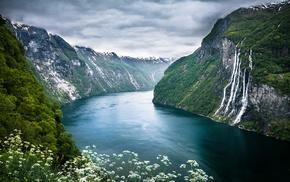 гейрангер-фьорд, geirangerfjorden, Норвегия, природа, norway, семь сестёр