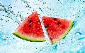 splash, summer, water, delicious