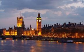 биг-бен, великобритания, лондон, Big ben, города, англия