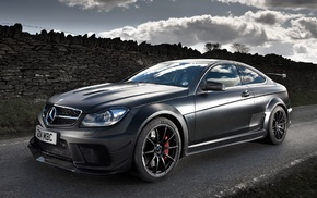 amg, Mercedes-Benz, black, coupe, cars