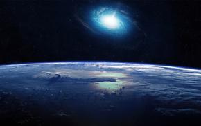 вселенная, земля, галактика, космос
