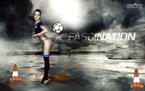 girl, sports, soccer