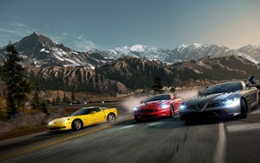 race, video games, supercars, road