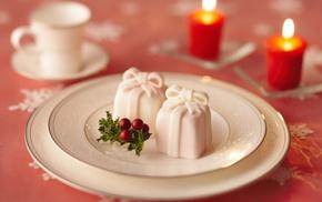 delicious, dessert, candles