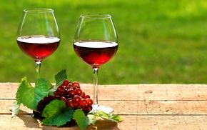 листья, вкусно, виноград, красное, wine, Вино