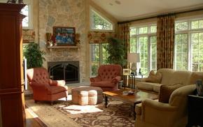 villa, style, interior, design, house