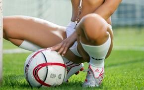 soccer, girls, girl