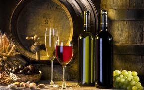 delicious, wine, grapes