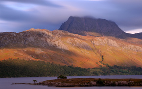 великобритания, природа, Great britain, шотландия, scotland, озеро