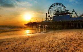 sunset, berth, stunner, beach