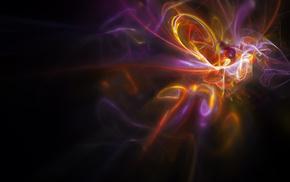 color, purple, light, 3D, yellow