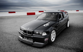 tuning, BMW, coupe, cars