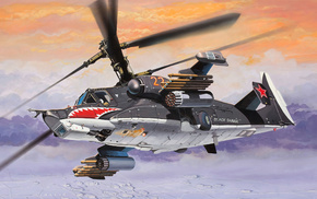 aircraft, art, helicopter