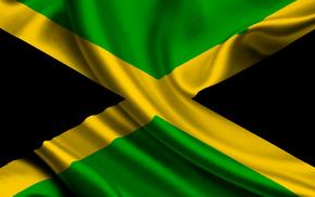текстуры, ямайка, флаг, Jamaica