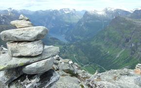 Norway, stones, nature