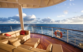 nature, horizon, yacht, rest, sea