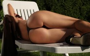 booty, lies, pose, panties, girl