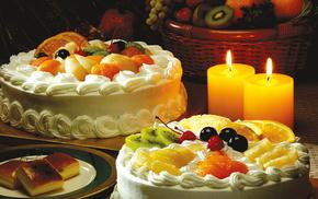 delicious, fruits, dessert