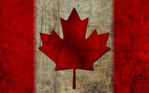текстуры, кленовый лист, флаг, Канада, flag, canada
