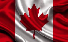 канада, Canada, флаг, текстуры