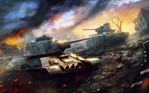World of Tanks, game, video games