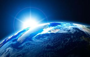 Космос, планета, земля