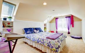 room, window, pillows