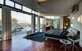 house, interior, design, style, city