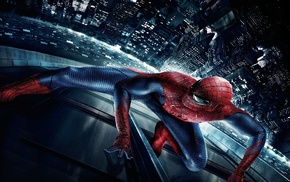 night, movies, spider, city