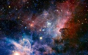 туманность эты киля, eso 128-en13, космос, Ngc 3372, туманность киля