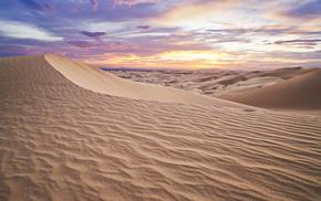 nature, sky, desert, sand