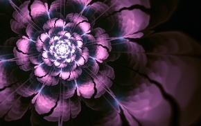 flower, abstraction, 3D, art