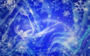 snow, snowflakes
