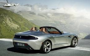 BMW, rear view, cars